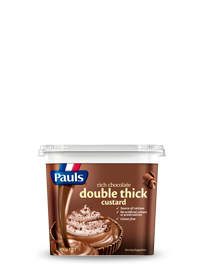 Double Thick Chocolate Custard