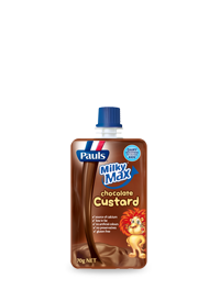 Milky Max Chocolate Custard Pouch