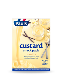 Vanilla Custard Snack Pack