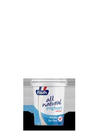 All Natural Yoghurt 99.8% Fat Free