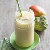 Custard, Apple & Mango Smoothie
