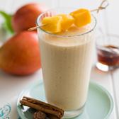 Creamy Spiced Mango Smoothie
