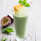 Kale, Pineapple & Ginger Smoothie
