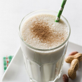 Peanut Butter, Coconut And Apple Smoothie