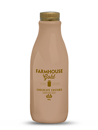 Farmhouse Gold Chocolate Custard