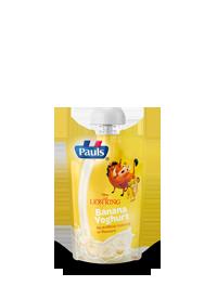Pauls Lion King Banana Yoghurt Pouch