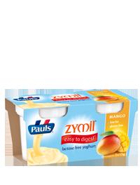 Pauls Zymil Lactose Free Yoghurt Mango