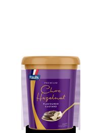 Choc Hazelnut Premium Custard
