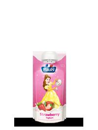Pauls Disney Princess Strawberry Yoghurt Pouch