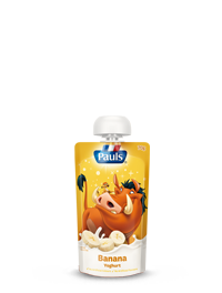 Lion King Banana Yoghurt Pouch